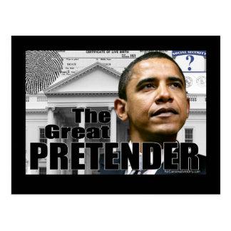 The Great Pretender Postcard