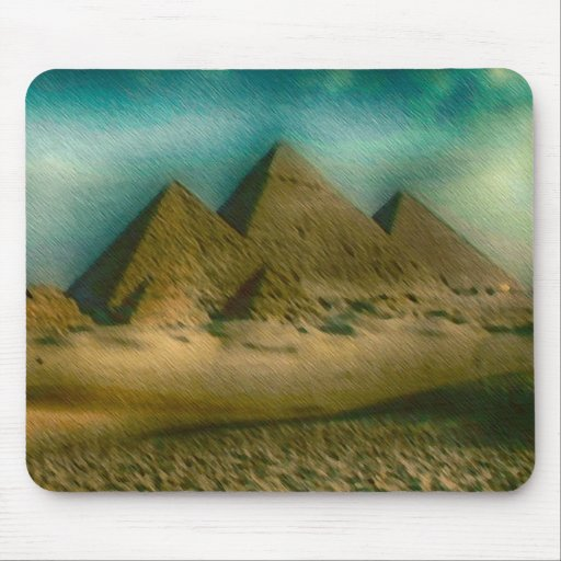 The Great Pyramids of Giza Mouse Pads