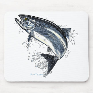 The Great Salmon Going Upstream Mouse Pad