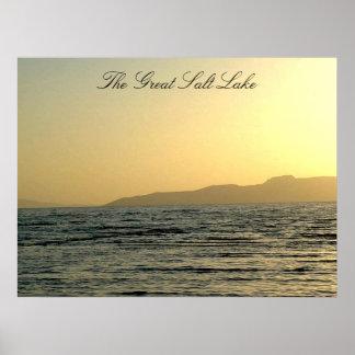 The Great Salt Lake Poster