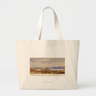 The Great Salt Lake, Utah Jumbo Tote Bag