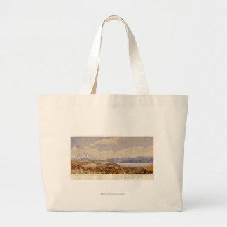 The Great Salt Lake, Utah Large Tote Bag