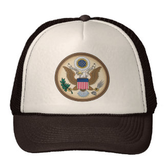 The Great Seal of the United States of America. Cap