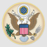 The Great Seal Round Sticker