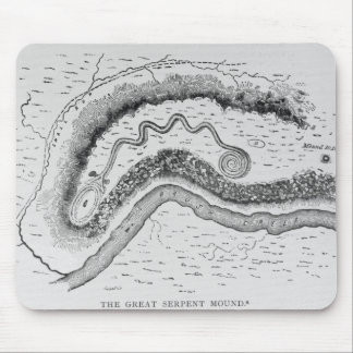 The Great Serpent Mound Mouse Pad