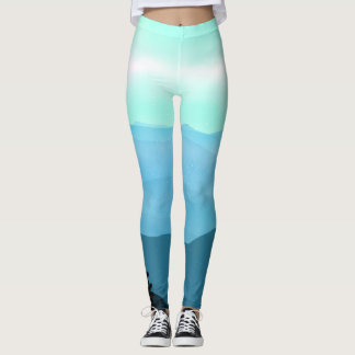 The Great Smoky Mountains Landscape Leggings