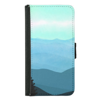 The Great Smoky Mountains Landscape Samsung Galaxy S5 Wallet Case