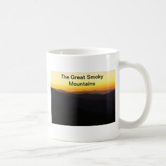 The Great Smoky Mountains Coffee Mugs