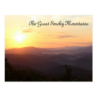 The Great Smoky Mountains Postcard