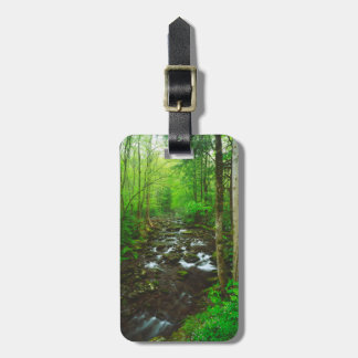 The Great Smoky Mountains Travel Bag Tag