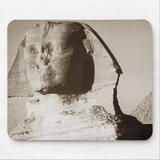The Great Sphinx of Giza in Egypt Mouse Pads