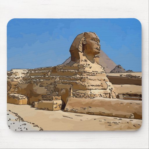 The Great Sphinx of Giza Mousepad