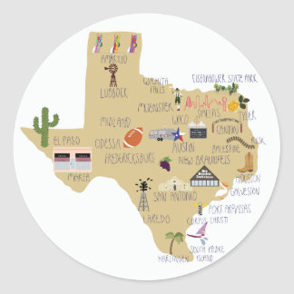 The Great State of Texas stickers