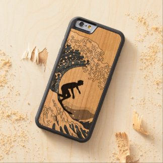 The Great Surfer of Kanagawa Carved Cherry iPhone 6 Bumper Case