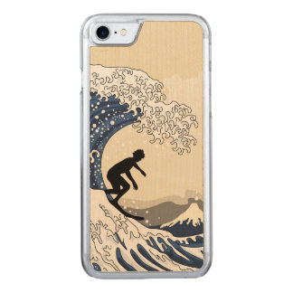 The Great Surfer of Kanagawa Carved iPhone 7 Case