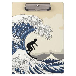 The Great Surfer of Kanagawa Clipboard