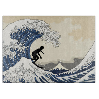 The Great Surfer of Kanagawa Cutting Board