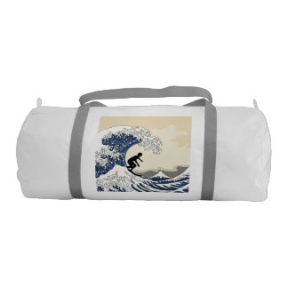 The Great Surfer of Kanagawa Gym Bag