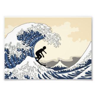 The Great Surfer of Kanagawa Photo Print