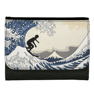The Great Surfer of Kanagawa Women's Wallets