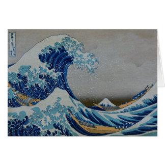The Great Tsunami Card