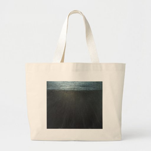 The Great Wall ( black minimalism painting ) Canvas Bag