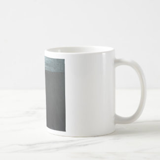 The Great Wall ( black minimalism painting ) Basic White Mug
