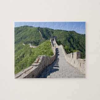 The Great Wall of China in Beijing, China Jigsaw Puzzle