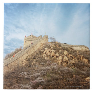 The great wall of China outside Beijing Tile