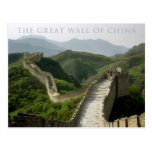 the great wall of china postcards