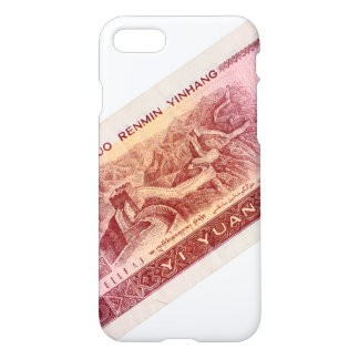 The Great Wall on the Back of Chinese Money Bill iPhone 8/7 Case