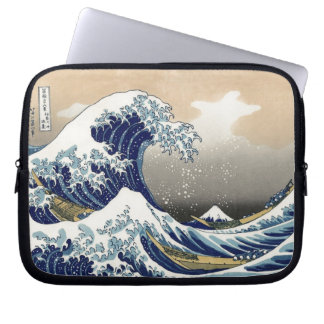 The Great Wave 神奈川沖浪裏 Laptop Sleeve