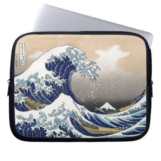 The Great Wave 神奈川沖浪裏 Laptop Sleeve