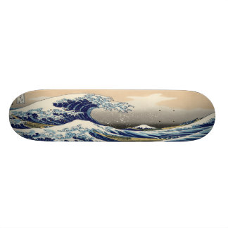 The Great Wave 21.6 Cm Skateboard Deck