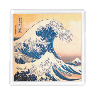 The Great Wave Acrylic Tray