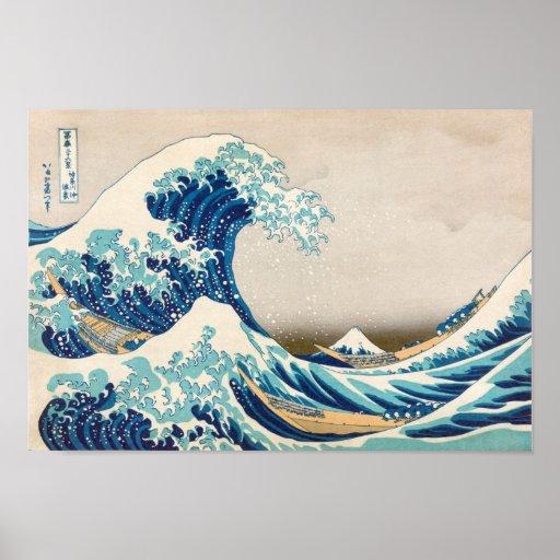 The Great Wave at Kanagawa Original Reproduction Posters