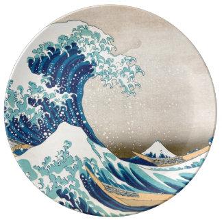 The Great Wave at Kanagawa Plate