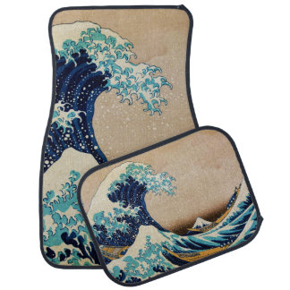 The Great Wave by Hokusai Japanese Car Mat