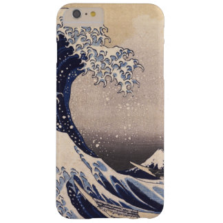 The Great Wave by Hokusai, Vintage Japanese Art Barely There iPhone 6 Plus Case
