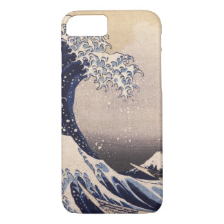 The Great Wave by Hokusai, Vintage Japanese Art iPhone 7 Case