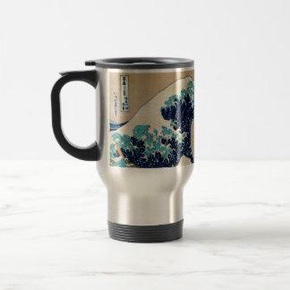 The Great Wave by Hokusai Vintage Japanese Coffee Mugs