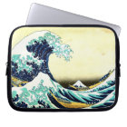 The Great Wave by Katsushika Hokusai (葛飾北斎) Laptop Sleeve