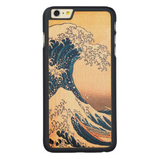 The Great Wave Carved Maple iPhone 6 Plus Case