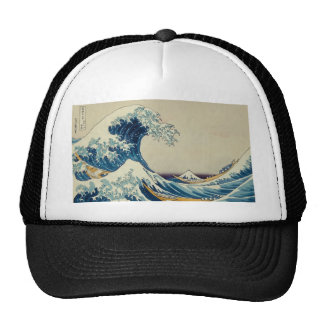 The Great Wave Customs Mesh Hat
