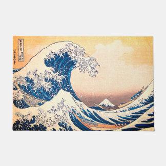 The Great Wave Doormat