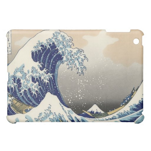 The Great Wave iPad Case