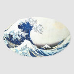 """""""The Great Wave"""" Japanese Painting by Hokusai Sticker"""