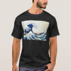 """""""The Great Wave"""" Japanese Painting by Hokusai T-Shirt"""