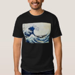"""The Great Wave"" Japanese Painting by Hokusai Tee Shirt"