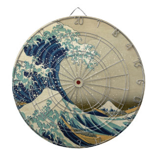 The Great Wave Kanagawa Dartboard